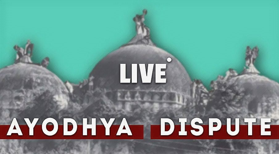 Ayodhya Hearing: Live Updates from Supreme Court [Day 25]