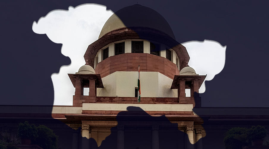 Kashmir: Approaching a stage when restrictions may not be necessary, Centre to SC
