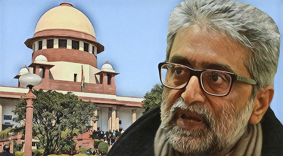 Gautam Navlakha: SC extends interim protection from arrest for four weeks, refuses to quash proceedings