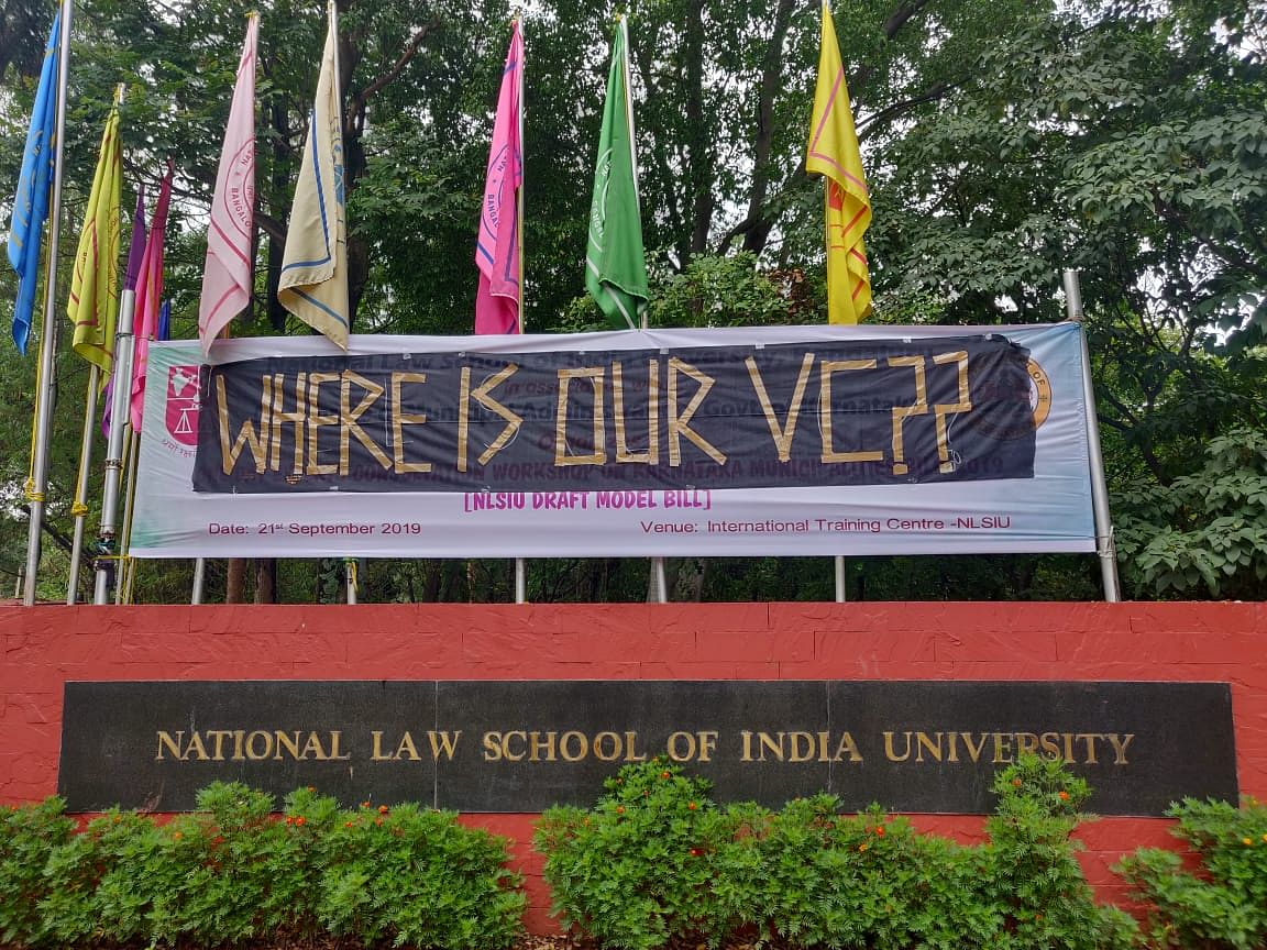 NLSIU Protests: Student body resolves to boycott exams in wake of crisis at University