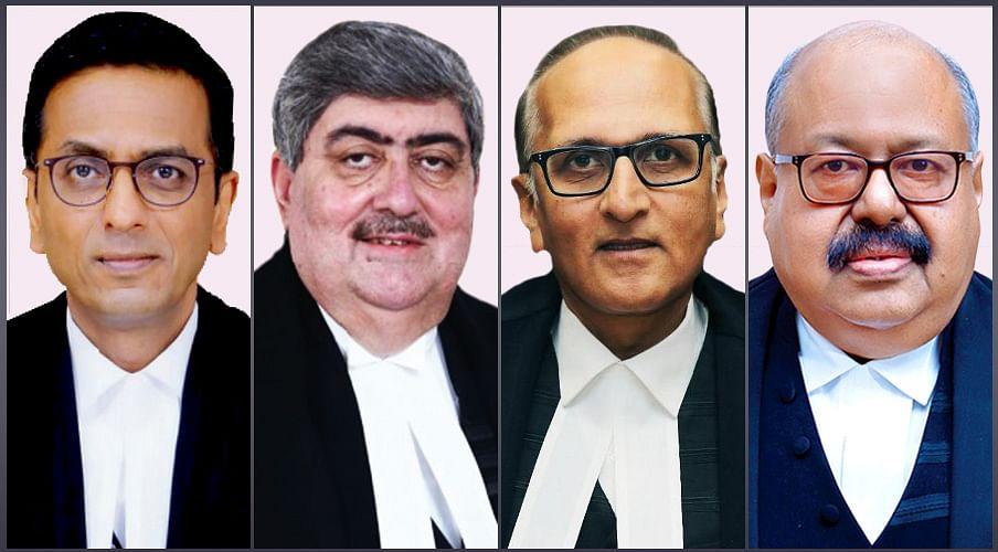 The Front Benchers? Four Campus Law Centre classmates are now Supreme Court judges