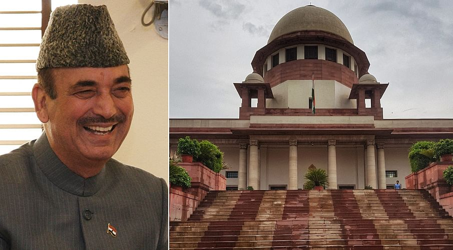 Supreme Court allows Ghulam Nabi Azad to visit four districts in Jammu & Kashmir