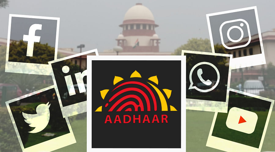 Social Media and Aadhaar linkage: Supreme Court refuses to entertain fresh PIL