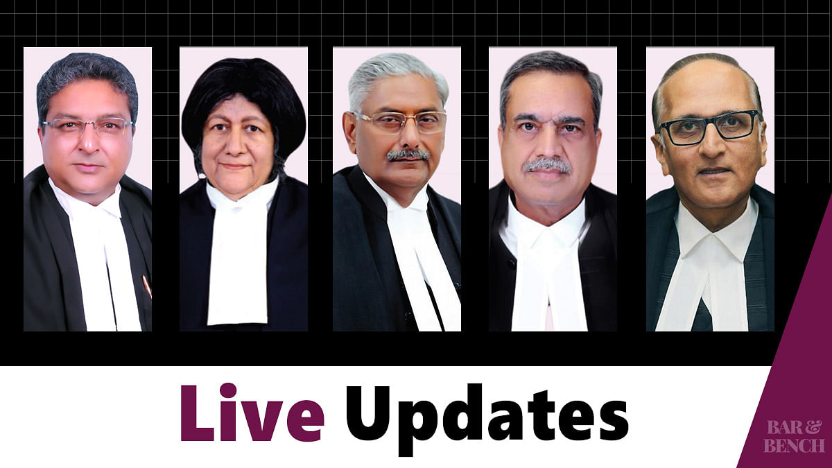 Land Acquisition Act matters: Live Updates from the hearing in Supreme Court