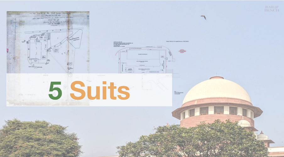 Ayodhya Case: What are the Five Suits in this case?