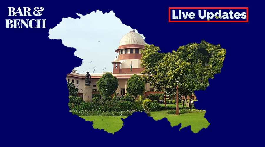 Communication Restrictions in Jammu and Kashmir: Live Updates from Supreme Court