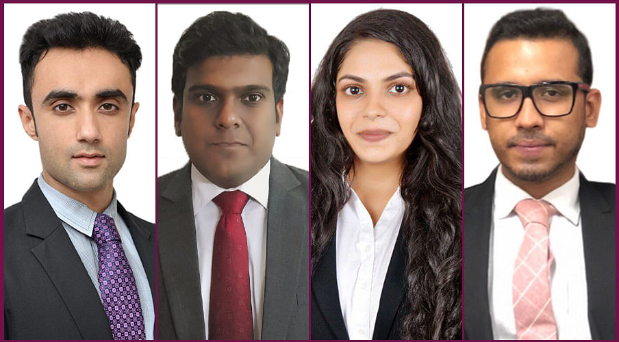 Arush Khanna, George Thomas, Lakshmi Raman and Chaitanyaa Bhandarkar set up 'Numen Law Offices'