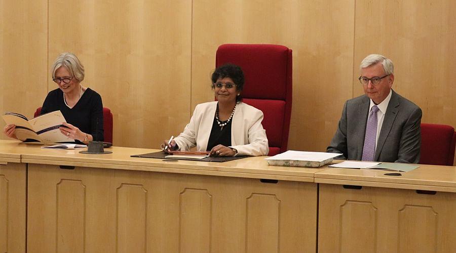 Surbhi Lal, Avantik Tamta win the Prathiba M Singh Scholarship for pursuing LLM at University of Cambridge