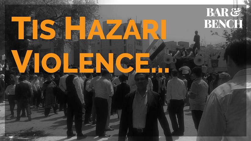 Tis Hazari Violence