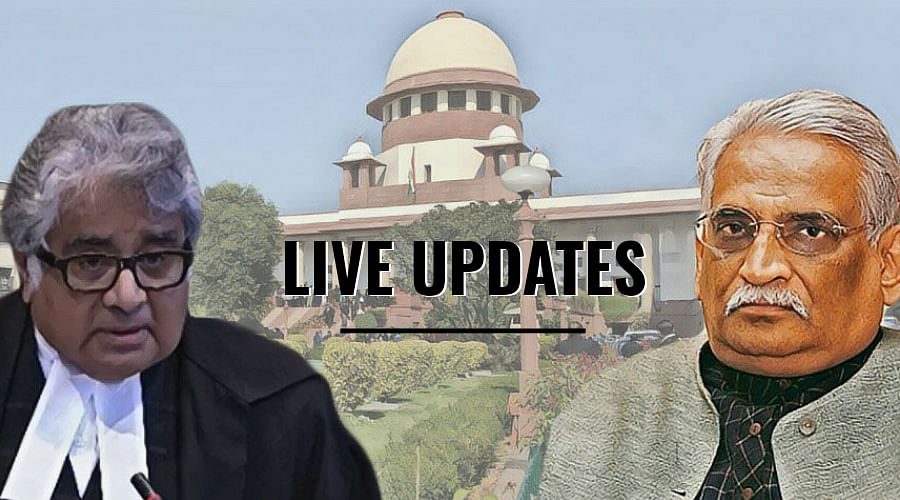 Can persons holding public office make statements on pending trials? Live Updates from SC hearing