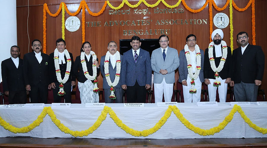 Welcome ceremony conducted for newly appointed Additional Judges of Karnataka High Court