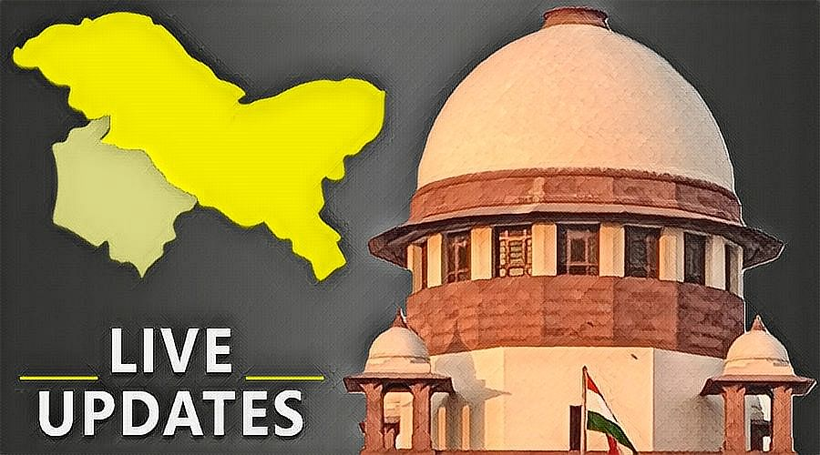 Challenge to abrogation of Article 370: Live Updates from the hearing in Supreme Court