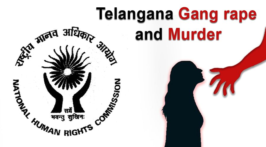 NHRC takes suo motu cognisance of Encounter Killing of accused in Telangana rape and murder case