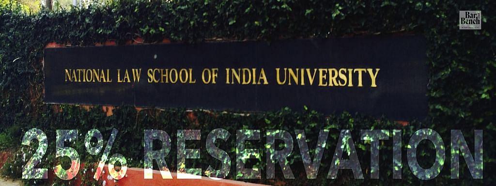 बी.सी.आई. ने कर्नाटक एच.सी. मे एन.एल.एस.आई.यू. बैंगलोर में 25% अधिवास आरक्षण को चुनौती दी