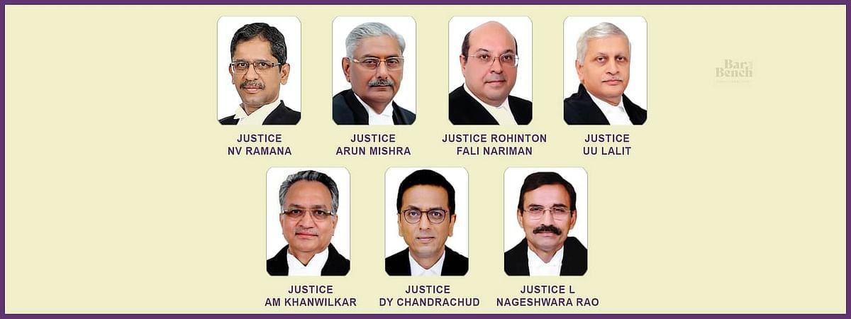 एससी के 7 न्यायधीशो की समिति का कहना है कि प्रयोगात्मक आधार पर 3 बड़े न्यायालयो को भौतिक सुनवाई के लिए तैयार किया जाना चाहिए