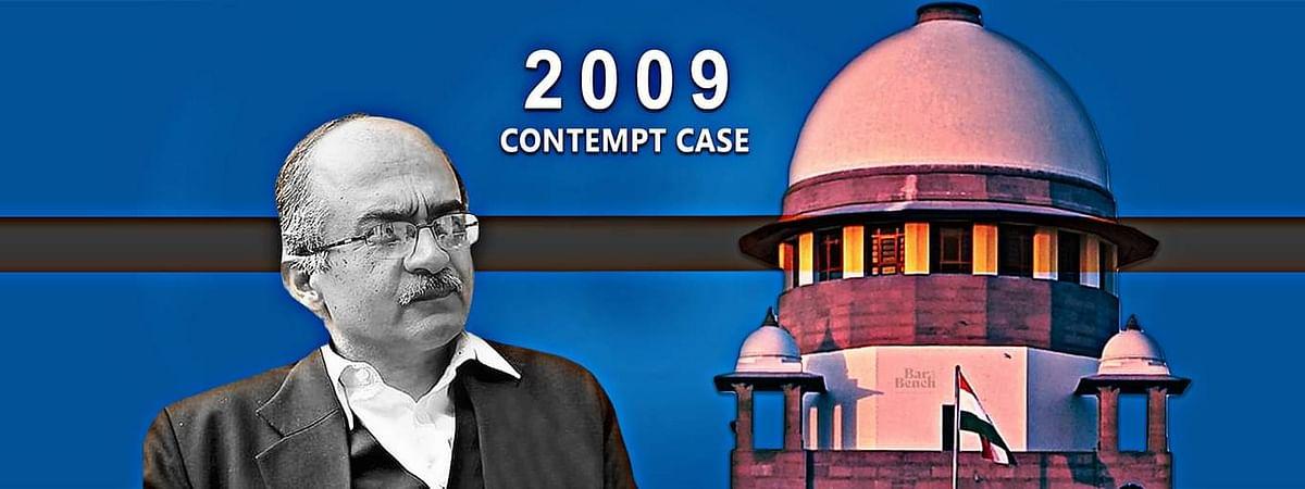 2009 में प्रशांत भूषण के खिलाफ अवमानना मामला: एससी ने अवमानना याचिका की कार्यवाही सक्षम पीठ के समक्ष रखने का फैसला किया।