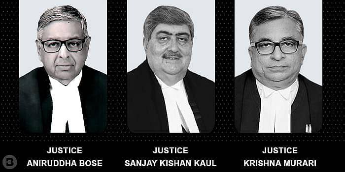Aniruddha Bose, Sanjay Kishan Kaul and Krishna Murari