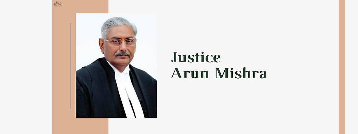 """""""मैंने अपने अंतःकरण से हर मामले का निस्तारण किया है,"""" जस्टिस अरुण मिश्रा ने सुप्रीम कोर्ट से विदाई ली"""