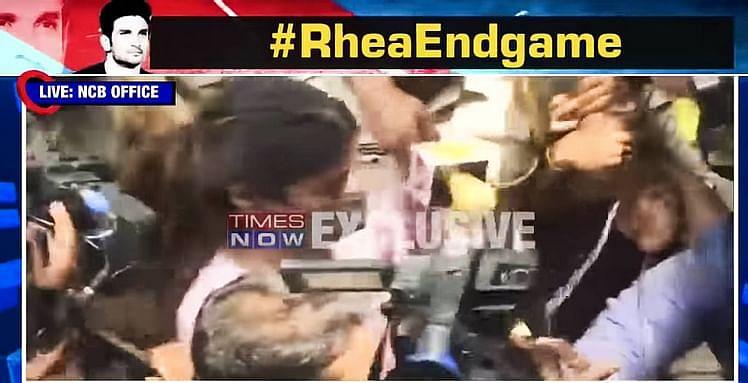 Media when Rhea was entering NCB