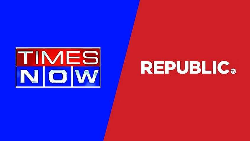 """रिपब्लिक टीवी अब """"News Hour"""" का उपयोग नही कर सकता है, दिल्ली HC ने टाइम्स नाउ के पक्ष मे अंतरिम निषेधाज्ञा प्रदान की"""