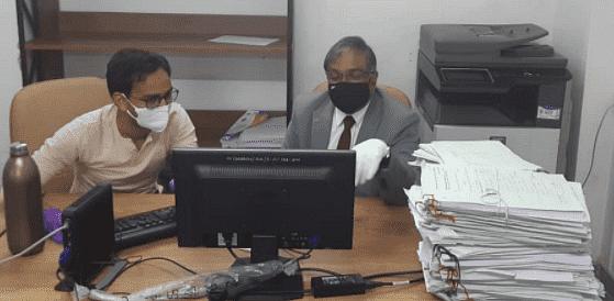 मुख्य न्यायाधीश विक्रम नाथ ने गुजरात उच्च न्यायालय में फाइलिंग विभाग का अचानक निरीक्षण किया