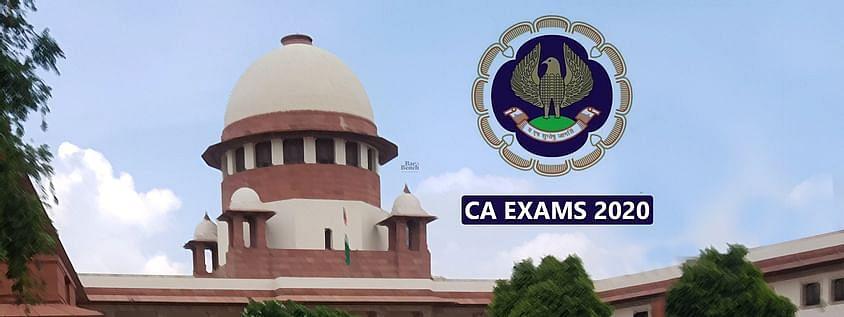 सुप्रीम कोर्ट सीए परीक्षा आयोजित करने के लिए दिशा-निर्देश की मांग वाली याचिका पर 2 नवंबर को सुनवाई करेगा