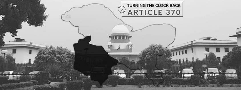 """""""जम्मू और कश्मीर के लोग पीड़ित हैं"""": एससी मे याचिका अनुच्छेद 370 के निरसन को चुनौती देने वाली याचिकाओं की जल्द सुनवाई की मांग"""