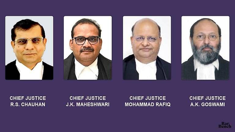 [ब्रेकिंग] सुप्रीम कोर्ट कॉलेजियम ने चार उच्च न्यायालयों के मुख्य न्यायाधीशों को स्थानांतरित करने का प्रस्ताव दिया