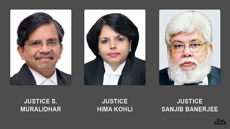 [ब्रेकिंग] मुख्य न्यायाधीश एस मुरलीधर, हिमा कोहली, संजीब बनर्जी उड़ीसा, तेलंगाना, मद्रास के उच्च न्यायालयों के लिए नियुक्त