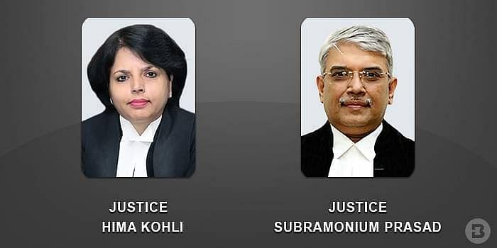 Justices Hima Kohli and Subramonium Prasad