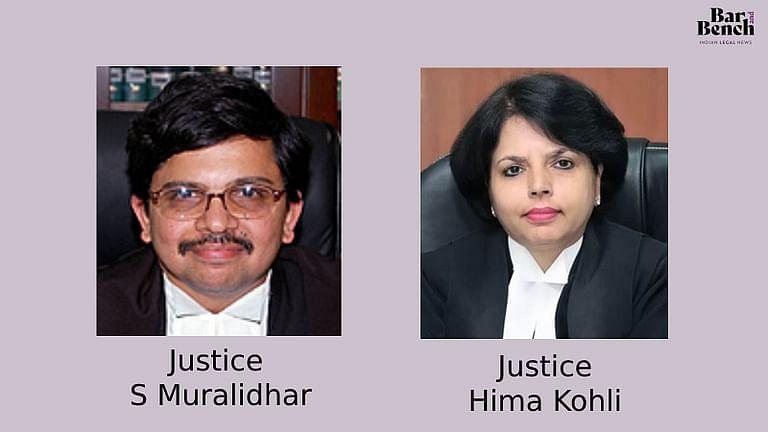 [ब्रेकिंग] SC कोलेजियम ने उड़ीसा, तेलंगाना HC के मुख्य न्यायाधीशो के रूप मे जस्टिस एस मुरलीधर,हेमा कोहली के नाम की अनुषंशा की