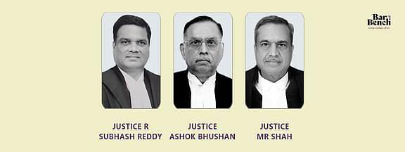 Justices Ashok Bhushan, R Subhash Reddy, MR Shah, pension