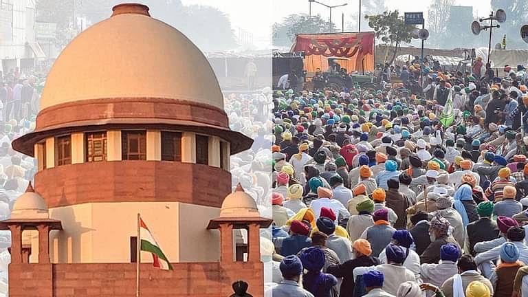 [ब्रेकिंग] बिना शांति भंग और किसी बाधा के किसानों के विरोध को जारी रखने की अनुमति दी जानी चाहिए: उच्चतम न्यायालय