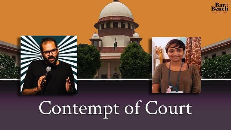 [ब्रेकिंग] SC ने कुणाल कामरा, रचिता तनेजा के खिलाफ ट्वीट्स के लिए अदालत अवमानना की कार्यवाही करने का फैसला किया; नोटिस जारी
