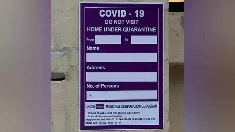 राज्यो को COVID रोगियो के घरो के बाहर चेतावनी पोस्टर नही लगाने चाहिए जब तक सक्षम प्राधिकारी द्वारा अनिवार्य नही किया जाये: SC
