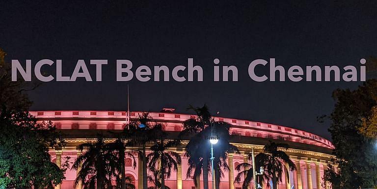 ब्रेकिंग: एनसीएलएटी चेन्नई बेंच सोमवार से वर्चुअल मोड के माध्यम से काम करना शुरू करेगी [अधिसूचना पढ़ें]