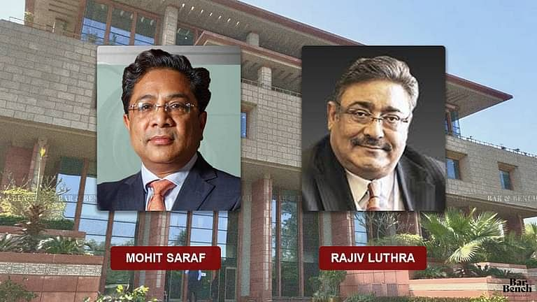 [ब्रेकिंग] मोहित सराफ बनाम राजीव लूथरा मे दिल्ली उच्च न्यायालय 18 जनवरी को अपना फैसला सुनाएगा