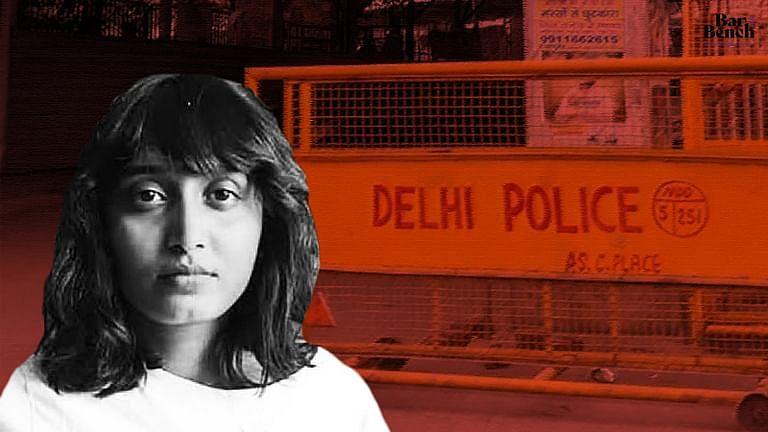 Disha Ravi, Delhi Police