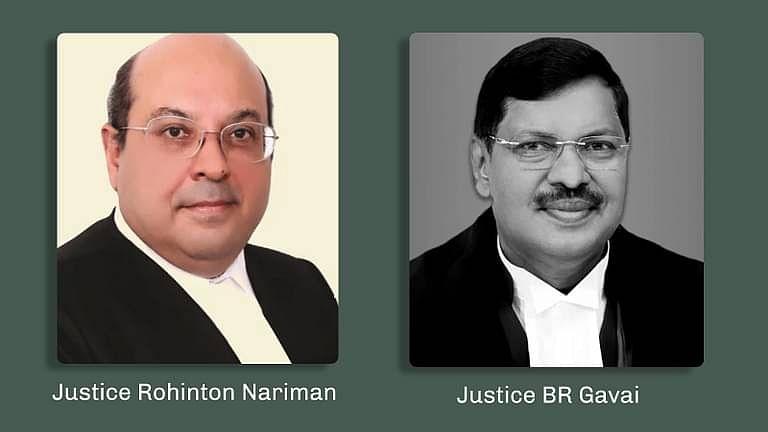 Justice Rohinton Nariman and Justice BR Gavai