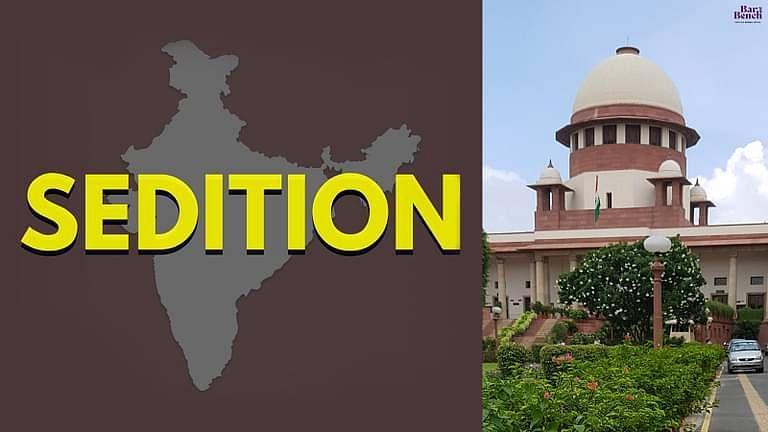 [ब्रेकिंग] सुप्रीम कोर्ट ने धारा 124 A IPC के तहत राजद्रोह कानून की वैधता को चुनौती देने वाली याचिका को खारिज किया