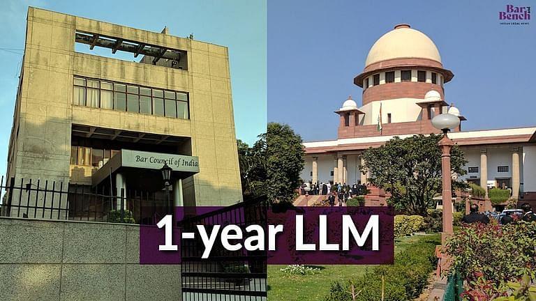 NLU कंसोर्टियम ने 1 वर्ष के LLM को रद्द करने के BCI के फैसले को चुनौती देते हुए SC का रुख किया; अंतरिम राहत पर कल सुनवाई