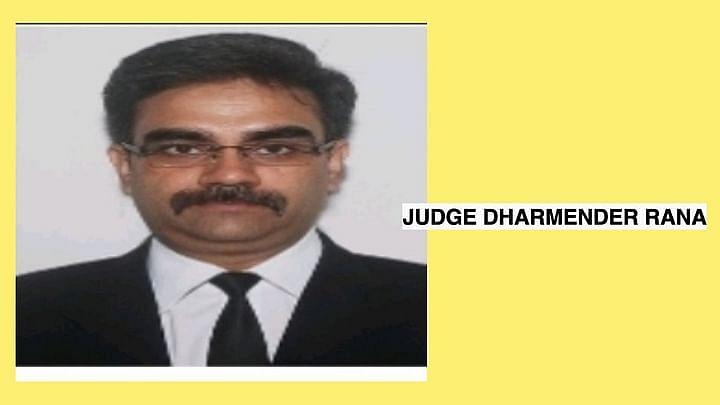 Judge Dharmender Rana