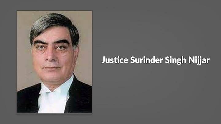 सुप्रीम कोर्ट के पूर्व न्यायाधीश सुरिंदर सिंह निज्जर का निधन