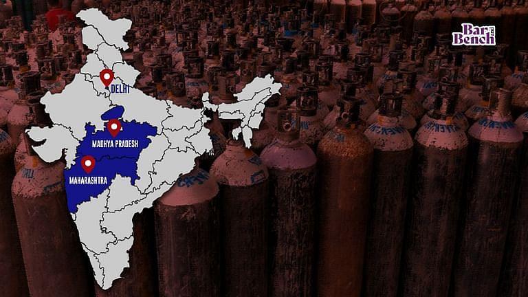 दिल्ली HC ने कहा: दूसरो की कीमत पर ऑक्सीजन नही चाहिए, लेकिन समझाएं कि मप्र, महाराष्ट्र कैसे मांग से अधिक प्राप्त कर रहे हैं