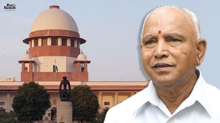 [ब्रेकिंग] कर्नाटक HC द्वारा मुख्यमंत्री बीएस येदियुरप्पा के खिलाफ भूमि अवनति मामले को बहाल करने के आदेश पर SC ने रोक लगाई