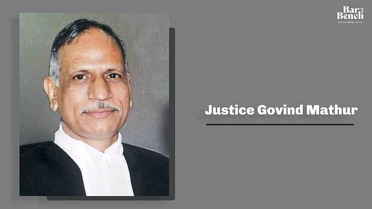 डॉ. अंबेडकर मेरे लिए गरीबों के भगवान हैं: इलाहाबाद उच्च न्यायालय ने मुख्य न्यायाधीश गोविंद माथुर को दी विदाई