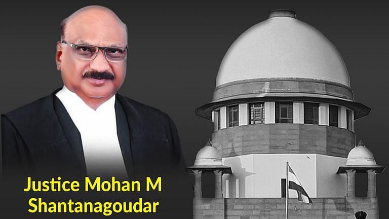 21 साल मे पहली बार, तेरहवें सुप्रीम कोर्ट के न्यायाधीश के पद पर रहते हुए न्यायमूर्ति मोहन शांतनगौदर का निधन हुआ