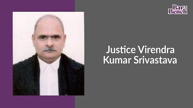 इलाहाबाद हाईकोर्ट के सिटिंग न्यायधीश वीरेंद्र कुमार श्रीवास्तव का कोविड-19 से निधन
