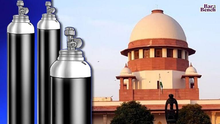 SC ने राज्यो को प्रदान की जाने वाली ऑक्सीजन की आपूर्ति के ऑडिट के आदेश दिए; डॉक्टरों के विश्वास की जांच करने का कोई इरादा नही