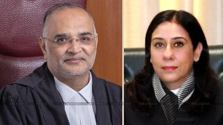 Chief Justice DN Patel, Justice Jyoti Singh